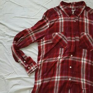 Mossimo Supply Co. Tops - WORN ONCE. Plaid button down shirt